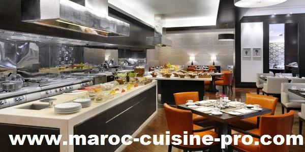 Snack maroc cuisine pro for Equipement de resto usage