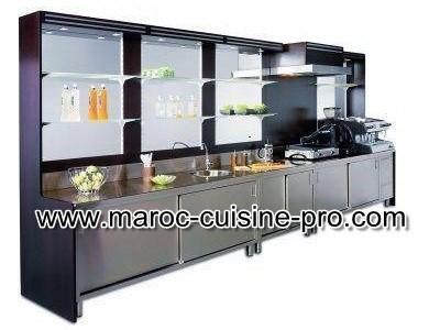 Caf maroc cuisine pro for Materiel professionnel cafe