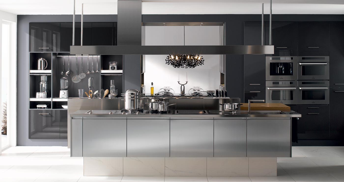 Inox pour cuisine 80 cm x 10 cm stainless jaimye u003d for Revetement inox pour cuisine