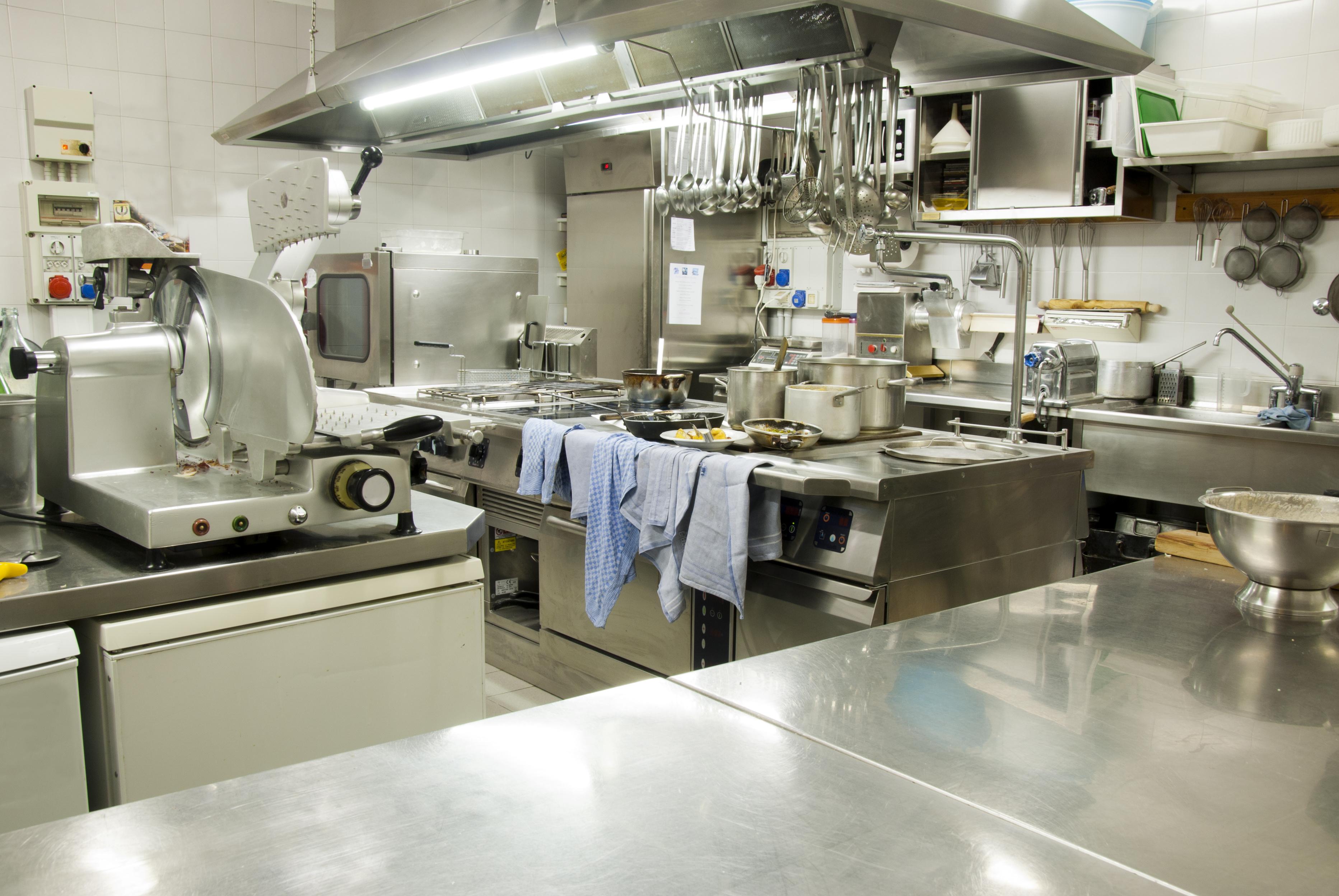 Caf restaurant et pizzeria kh misset mat riel et for Equipement de cuisine de restaurant