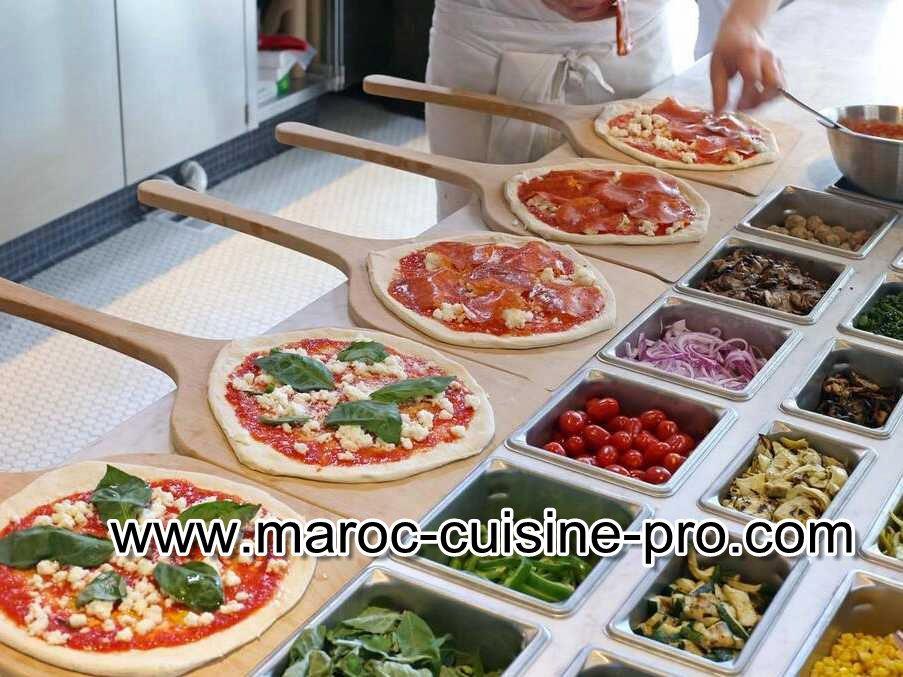 El jadida vente d 39 quipement de caf et pizzeria pour for Equipement cuisine restaurant