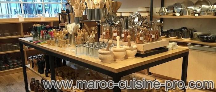 Équipement, accessoires, vaisselle de cuisine Pro au Maroc